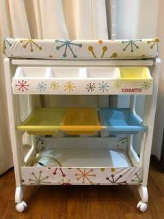 Cosatto Baby Changing Table with Bath Tub