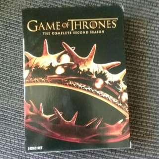 Game of thrones (complete second season)