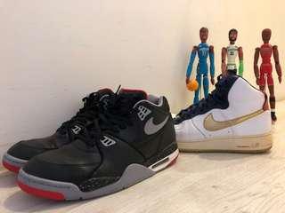 兩雙us12號 Nike 籃球鞋