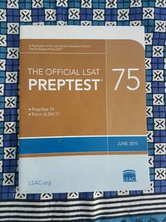 LSAT Preptest 75