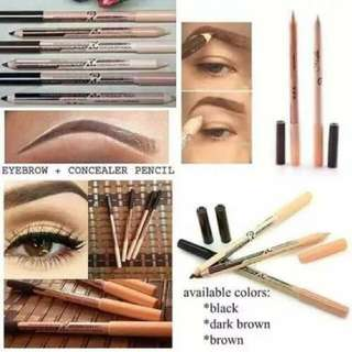 Menow concealer and eyebrow