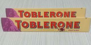 Toblerone Fruits and Nuts