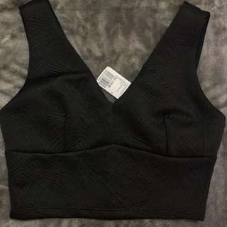 Detailed cropped top