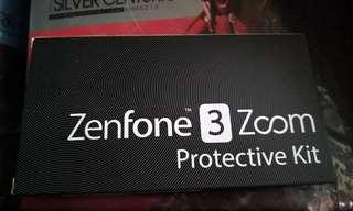 Asus zenfone3 zoom 透明機殼加保護貼