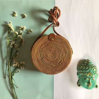 Round Rattan Bags for Pre-order