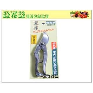 {綠花緣} 黑澤 不銹鋼剪定鋏 - 園藝專用剪刀