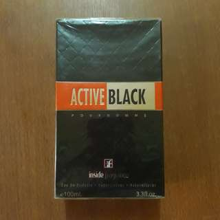 Active Black by Inside Fragrance 100ml --- from Dubai