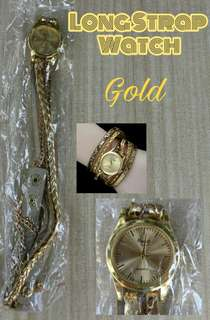 Long Strap watch