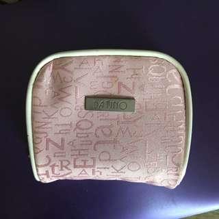 粉紅化妝收納包