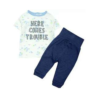 Rene Baby HERE COMES TROUBLE 2Pcs Set
