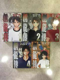Sohryuden/ Yoshiki Tanaka/ Manga / Series 1 to 5 / Chinese Version