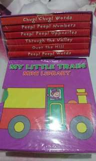Minibook little train import