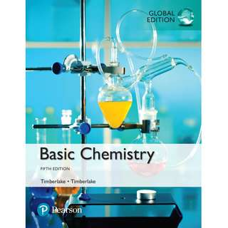 Basic Chemistry Global 5th Fifth Edition by Karen Timberlake, William Timberlake - Pearson