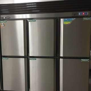 瑞興6門冰箱1480L/六門冰箱/台灣製造/6門全藏型
