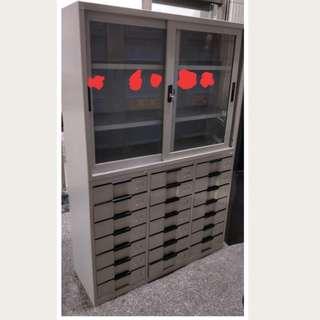 辦公室文件鐵櫃加21層抽屜鐵櫃