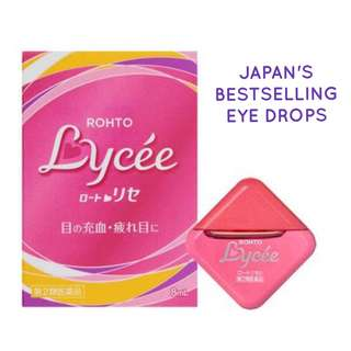 ROHTO LYCEE EYE DROPS