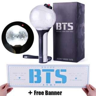 BTS lamp korean Kpop concert