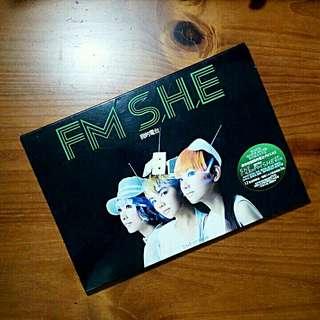 二手原版FM SHE我的電台專輯CD