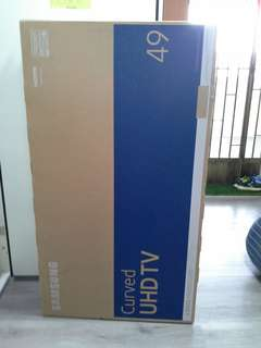 """Samsung smart  tv curved 49""""  (EMPTY BOX ONLY)"""
