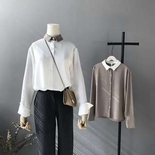 BN Long sleeves blouse