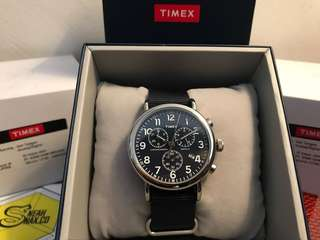 Timex Weekender Chrono Oversize (navy) TW2P71300