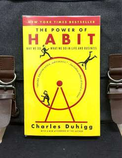 # Highly Recommended《Bran-New + Ted Talks Speaker + How To Master Life By Mastering Habit》Charles Duhigg - THE POWER OF HABIT : Why We Do What We Do, and How to Change In Life and Business