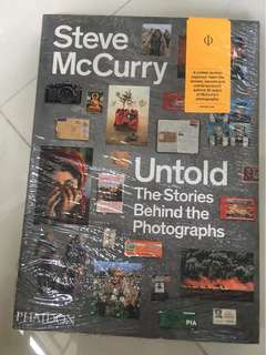 Steve McCurry - Untold the stories behind the photographs