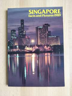 Singapore Facts And Pictures 1989 Book