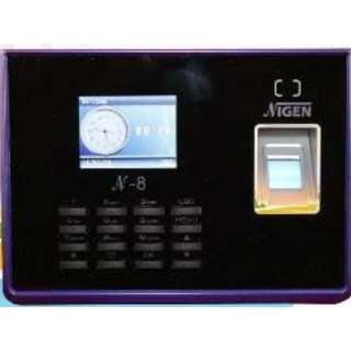 N-8 Standalone Fingerprint Time Recorder