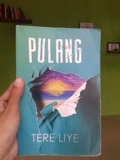 Novel:Pulang- Tere Liye