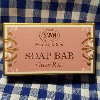 ~2020-2到期~SABON 以色列綠玫瑰棕櫚油香氛皂25g