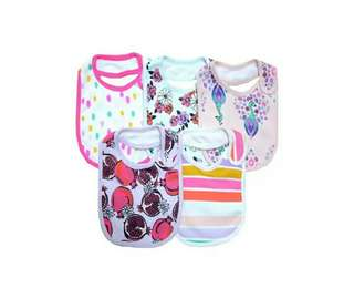 Rosie Baby 5 in 1 GIRLISH Bib (Double Layer)