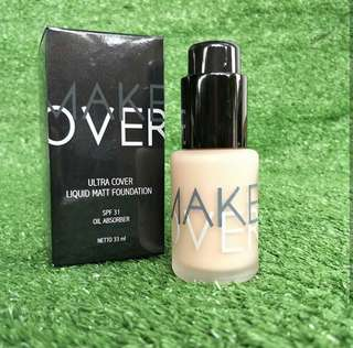 FOUNDATION MAKE OVER READY NO 1 SAMPAI 9 YA !! PROMO