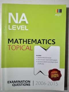 Math topical NA level