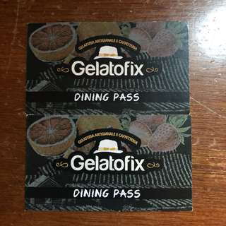Gelato fix voucher worth 1000