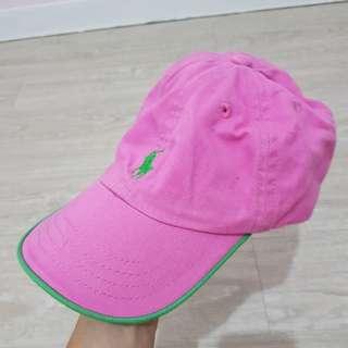 正版Ralph Lauren兒童鴨舌帽/ 棒球帽 /遮陽帽