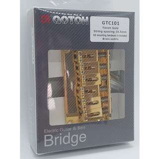 Gotoh GTC101 Guitar Bridge - Gold