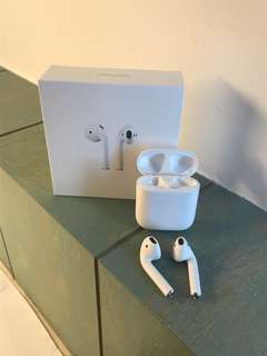 Apple Airpods - price negotiable-charger (basic iPhone cable) not included