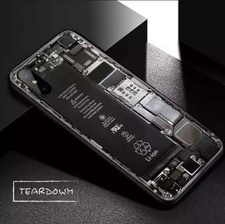 TEAR DOWN case for iPhone X