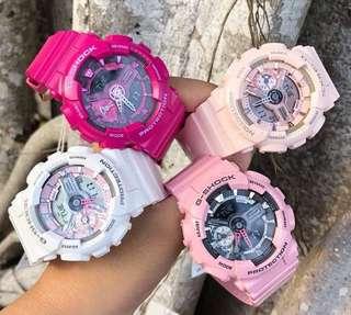 Casio G-Shock S Series Ladies Watch Resin Band