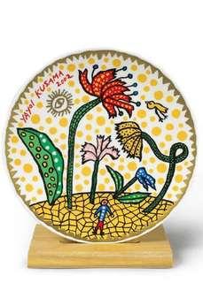 Kusama ceramic plate - edition of 300