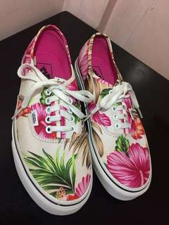 Original Vans Floral Shoes