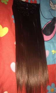 "24"" Hair Extension / Hair Extention Dark Brown"