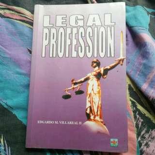 Legal Profession by Atty. Edgardo M. Villareal II