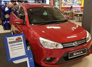 "ALL NEW PROTON SAGA - MAY""18 Hari Raya promotion , CHEAPER"