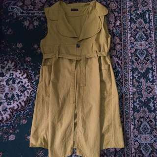 Cardigan (Mustard)