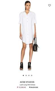 FROM 4900 to 3000! AUTHENTIC Acne Studios Button Down Dress