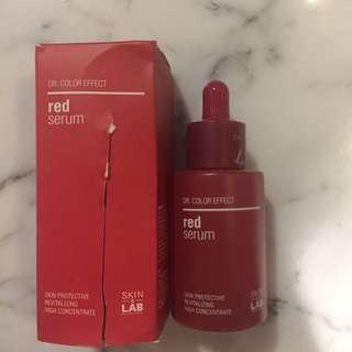 skin&lab red serum dr color effect
