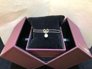 Mabelle 純銀珍珠手鏈連盒全新