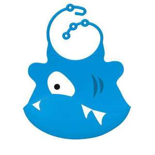Ulubulu Grill Shark Baby Bib